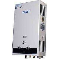 Газовая колонка Dion JSD 10 с дисплеем Премиум белая