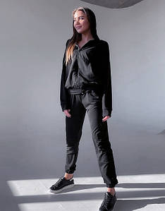 Спортивний костюм MF512 Черний S