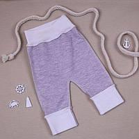 """Повзуни-штани Євро BetiS """"Меланж"""" з манжетом Кавовий Футер 2-х нитка 27688145 Зріст 38"""