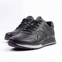 Осенняя мужская кожаная обувь,кроссовки из натуральной кожи.