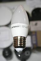 "Лампа св-ая ""Lemanso""  C37 E27 7,2W 18LED 550LM 2700K/LM314 мат"