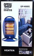Инфракрасный кварцевый электрический обогреватель Opera OP-H0005 1200Вт GL