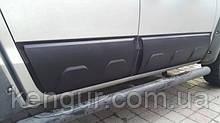 Молдінги - накладки на двері Volkswagen Amarok 2016