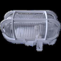 Светильники НПП 04У-100-001У3 «Эллипс 1ПК»,с решеткой, белый (ЭЛИПС-100) Овал белый