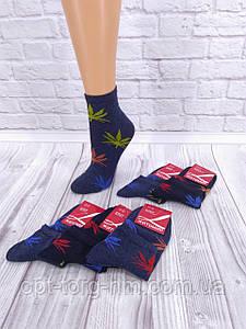 """Жіночі короткі шкарпетки """"Конопля"""""""