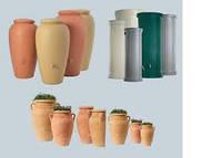 Декоративные емкости для дождевой воды