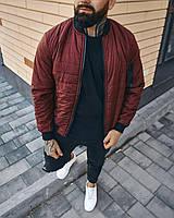 Куртка мужская Бордовая