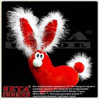 Подушка игрушка Сердце Зайчик