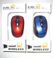 Беспроводная компьютерная мышь Wireless 2.4GHz