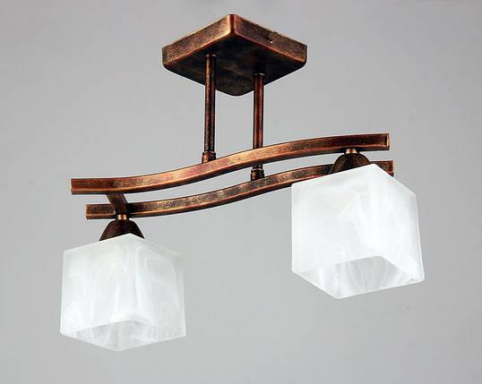 Люстра, 2 лампы, фото 2