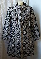 Пальто женское модное оригинальное с капюшоном бренд Desigual р.46 5042а