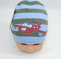 Осенняя шапка на мальчика