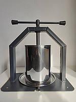 Пресс для винограда Усиленный, Нержавеющая сталь Пирамида 20 литров