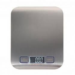 Весы кухонные электронные 5кг SF-2012 металлические + батарейки