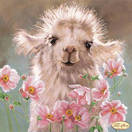 """Рисунок на ткани для вышивания бисером """"Верблюжонок"""", фото 2"""