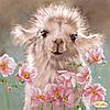 """Рисунок на ткани для вышивания бисером """"Верблюжонок"""""""