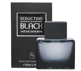 Духи мужские Antonio Banderas Seduction in Black ( Антонио Бандерас Седакшн ин Блек)