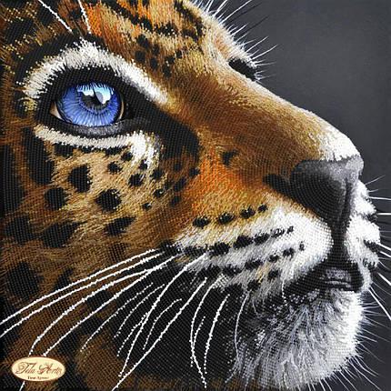 """Рисунок на ткани для вышивания бисером """"Преданность. Тигр"""", фото 2"""