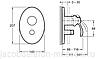 Смеситель для ванны скрытого монтажа Jacob Delafon Fairfax E98722-CP, фото 2