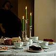 """Фарфоровая чашка с блюдцем для кофе из серии эмоциональной посуды от бренда Tassen """"Усмешка""""  200 мл, фото 8"""