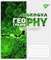 Предметная тетрадь школьная в клеточку 48 листов Yes, география