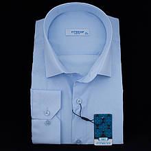 Сорочка чоловіча, приталена (Slim Fit), з довгим рукавом FITMENS/PASHAMEN O.821 80% бавовна 20% поліестер