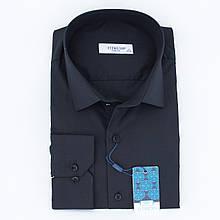 Сорочка чоловіча, приталена (Slim Fit), з довгим рукавом FITMENS/PASHAMEN E.002 TERRY COTTON 80% бавовна 20%