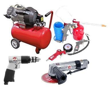 Компрессоры, пневмоинструмент и оборудование