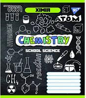 Предметная тетрадь школьная в клеточку 48 листов Yes, химия