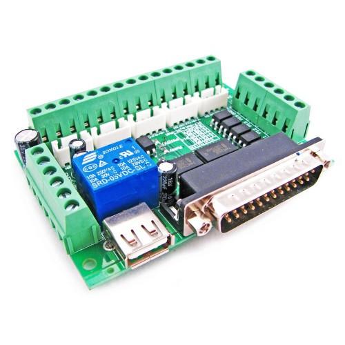 Інтерфейсна плата з опторазвязкой на 5 осей ЧПУ 2000-02618