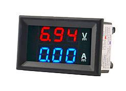 Вольтметр амперметр DC 0-100V 10A постоянного тока 2000-03846