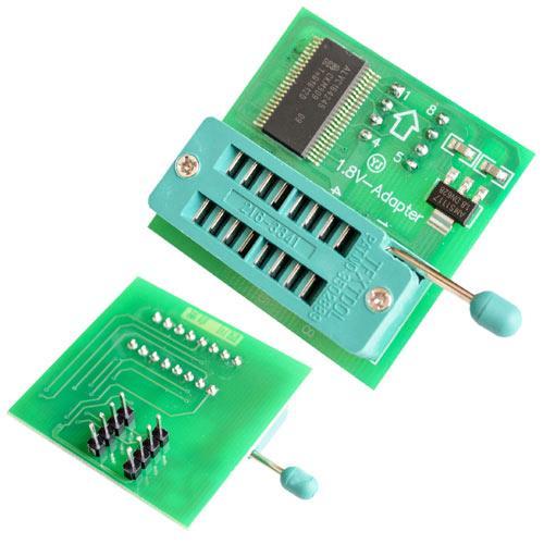 Адаптер 1.8 В ZIF панель SPI Flash SOP8 DIP8 для TL866CS TL866A EZP2010 2000-04253