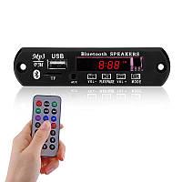 Аудио модуль Bluetooth mp3 радио USB MicroSD AUX 5-12в 2109-03509