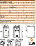 VIADRUS  U 22 C чугунный твердотопливный котел  мощность18 квт 3 секции, фото 5