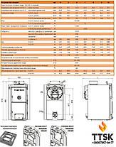 VIADRUS  U 22 C чугунный твердотопливный котел  мощность18 квт 3 секции, фото 3