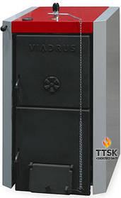VIADRUS  U 22 C чугунный твердотопливный котел  мощность18 квт 3 секции