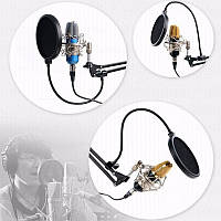 Поп-фильтр для микрофона, звукозаписи 155 мм 2000-03910