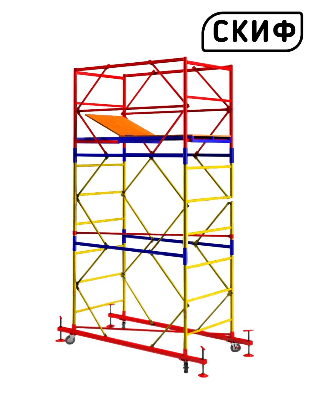 Вишка тура СКІФ 0,8×1,6 1+2 3м PROFESSIONAL