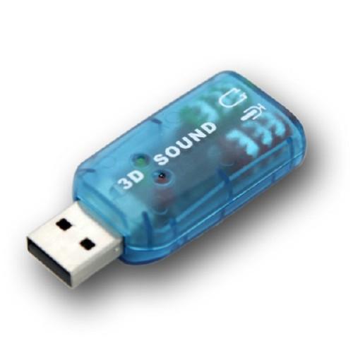 USB Звукова карта, 3D sound 5.1 2000-00077