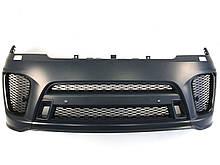 Передний бампер Range Rover Sport 2017-2020год ( в стиле SVR )