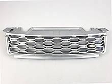Решетка радиатора на Range Rover Sport 2017-2021 год Серая