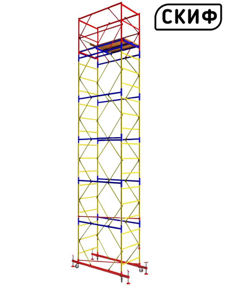 Вышка тура СКИФ 2×2 1+5 6,6м PROFESSIONAL