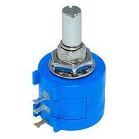 Резистор змінний, потенціометр 3590S-2-103L 10кОм багатооборотний 2000-04742