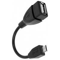USB OTG кабель, переходник с MicroUSB на USB 2000-00563
