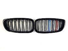 Ноздри на BMW 3 Series F34 GT 2013-2019 год M-color ( Двойные M-Look )