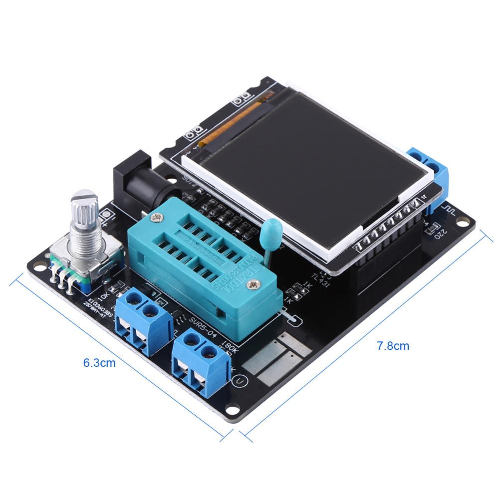 GM328A тестер полупроводников ESR RLC частотомер генератор сигналов 2000-01632