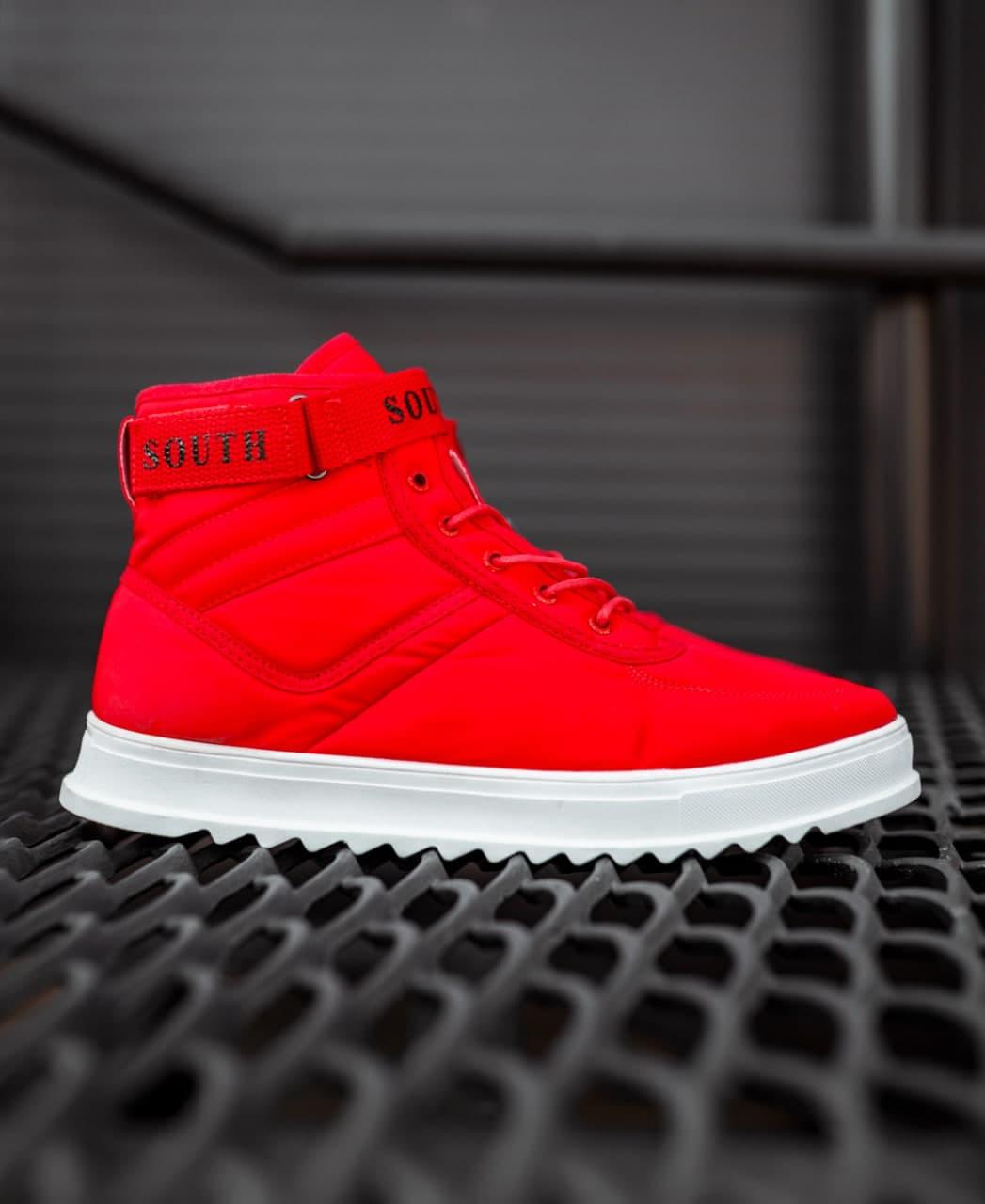 😜Кросівки - Чоловічі кросівки на осінь / чоловічі кросівки червоні на осінь