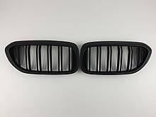Ніздрі на BMW 5 Series G30 / G31 / F90 2017-2020 рік Чорні Матові ( Подвійні M-Look )