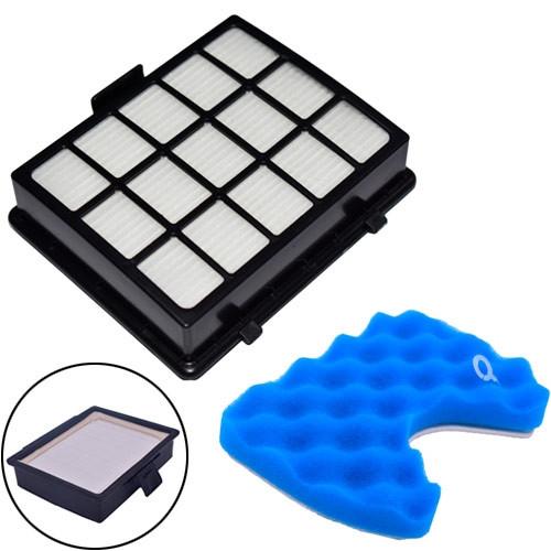 Фильтр HEPA DJ97-00492A для пылесосов Samsung + поролоновый под колбу # 10.02862