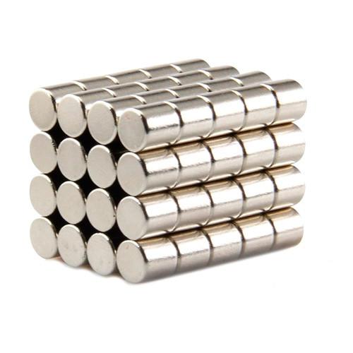 Магниты неодимовые сильные 5x5мм N35 10шт 2000-05179